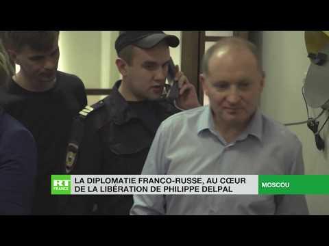La diplomatie franco-russe au cœur de la libération de Philippe Delpal