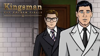 Download Youtube: #TBT to That Time Archer Met Kingsman