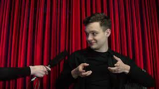 """Lägets Talkshow Träffar Karaktären Labbe Från Netflix Serien """"Störst Av Allt""""  DEL 2"""