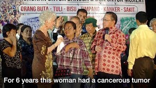 Cancerous Tumor Disappears