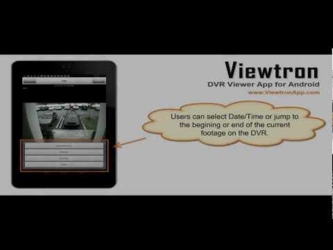 Video of Viewtron CCTV DVR Viewer App