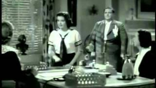 Judy Garland quick clip:  Everybody Sing 1