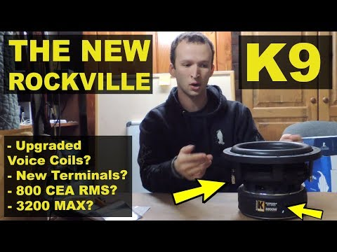 The Best $99 Subwoofer is Back! Updated Rockville K9 V2 – Review