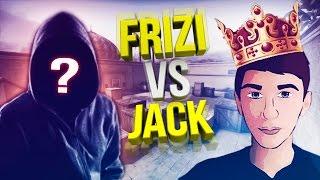 FRIZI VS JACK - AIM ВСТРЕЧА ЮТУБЕРОВ,НАДРАЛ ЗАД! | CS:GO!!!
