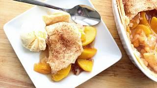Peach Cobbler | Easy Peach Cobbler | Holiday Desserts