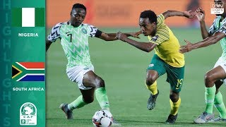 HIGHLIGHTS: Nigeria vs South Africa