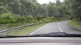 preview picture of video 'Jalan ke Beltim - Tanjung pandan'