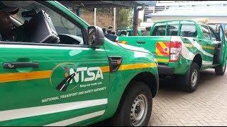 Hafla ya NTSA kukabidhi magari 17 kwa Trafiki kuongozwa na Inspekta Hillary Mutyambai