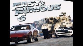 Fast & Furious 6 Dominic's Team Vs Tank ( Part 1)