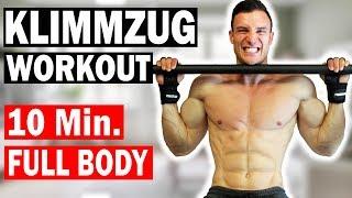 10 Min. Ganzkörper Workout mit Klimmzugstange | Achtung Extrem!