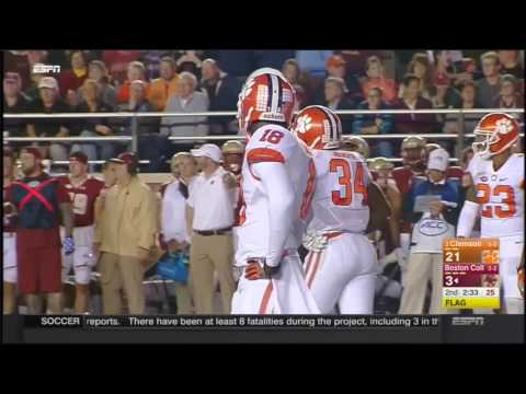 Clemson Tigers at Boston College Eagles in 30 Minutes - 10/7/16