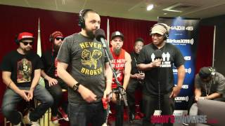 Wrekonize freestyles over the 5 Fingers of Death on #SwayInMorning