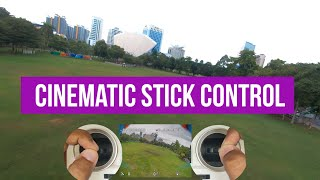 FPV how to get smooth cinematic with your stick and ReelSteady