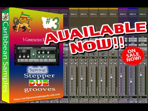 Survival Stepper DUB Grooves #3 / 5-Construction Kits Royalty Free.