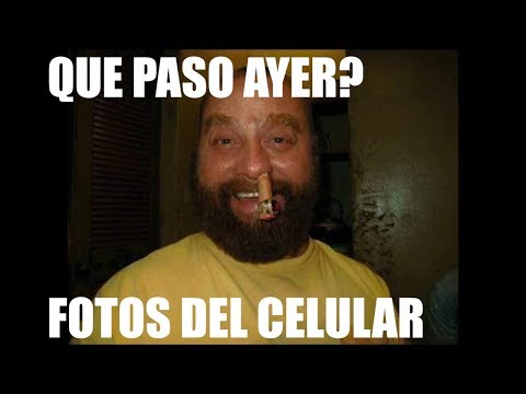 QUE PASO AYER? foto en el CELULAR!!!