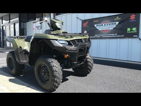 2020 Suzuki KingQuad 750AXi in Greenville, North Carolina - Video 1