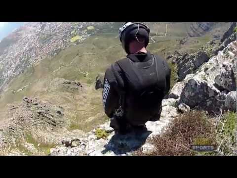 Crashing Into A Mountain During A Wingsuit Dive Sure Looks Painful