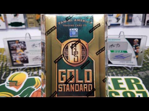 2019 Panini Gold Standard Football Hobby Box Opening