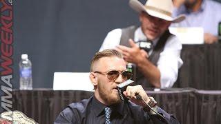 "Conor McGregor blasts Cowboy Cerrone and RDA for ""Stuck in the mud division"""