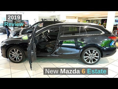 New Mazda 6 SW 2019 Tourer Combi Review Interior Exterior