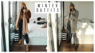 EASY WINTER OUTFIT IDEAS | WHAT I WORE