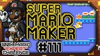 "Super Mario Maker w/ PKSparkxx #111 - 100 Mario Expert Courses | ""OOH, Breaking Courses!"""