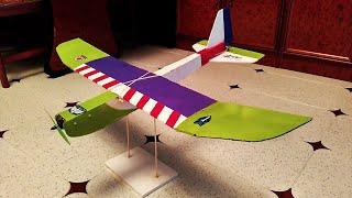 Tiny Trainer RC Plane (timelapse scratch build)