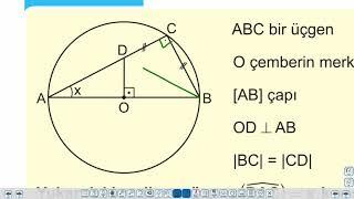 Eğitim Vadisi TYT Geometri 16.Föy Temel Kavramlar, Çemberde Açı - Örnek Soru Çözümü Konu Anlatım Videoları