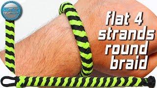 DIY a 3 Strands Brickwork Braid Paracord Bracelet World Of
