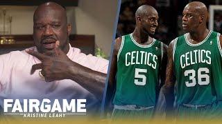 "Shaq on Paul Pierce, Kevin Garnett: ""I Robbed the Celtics. I Was Ring Chasing"" | FAIR GAME"
