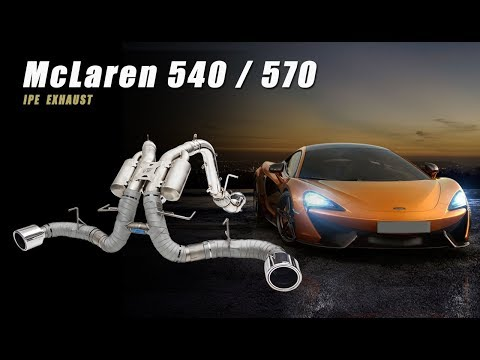 The iPE Exhaust for McLaren 540C / 570S