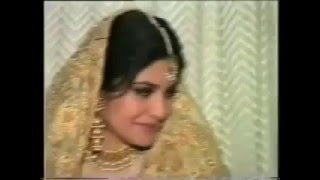 Rare Video Of Pop Diva Nazia Hassan Nikah And Rukhsati