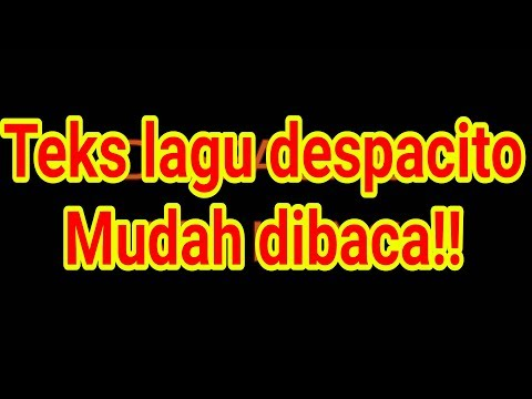 Despacito Easy Lirik Karaoke Tanpa Vokal! Mp3