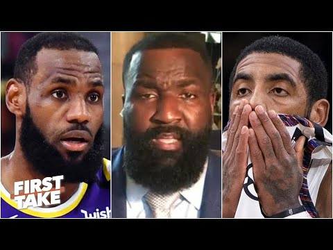Kyrie Irving is SO jealous of LeBron – Kendrick Perkins | First Take