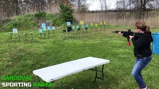 Action Pistol Match at Sandoval Range, Illinois - Shooter 11