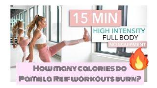 How Many Calories Do Pamela Reifs Workouts Burn?