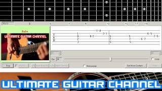 [Guitar Solo Tab] Babe (Styx)