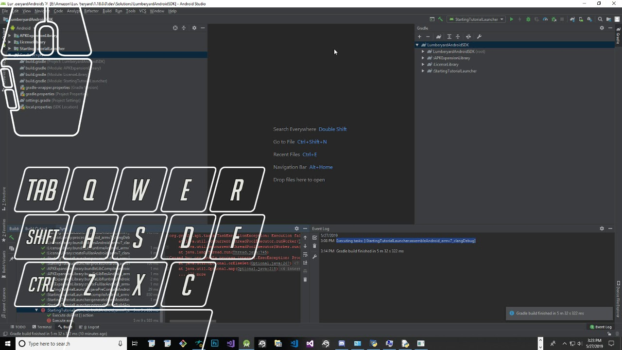 Lumberyard 1.18.0.0 Project 1 RTS Tutorials Part 6 Compiling Shaders for Andriod and Mac iOS