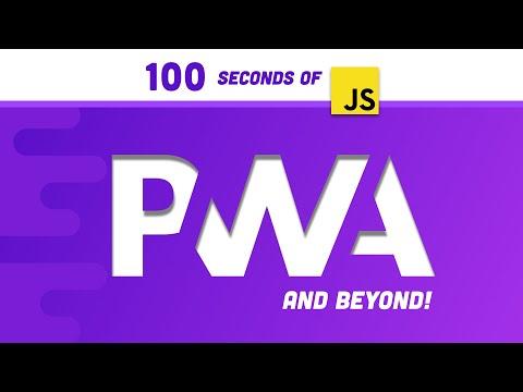 PWA in 100 seconds