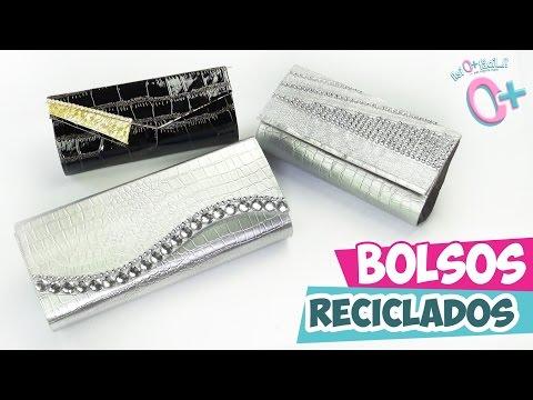 Bolso DE MANO para Fiesta RECICLADO  ★Así o más fácil★ DIY