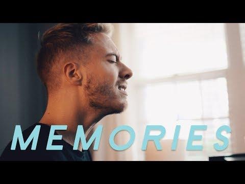 Maroon 5 - Memories (Acoustic Cover by Jonah Baker)