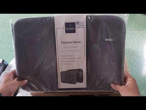 Mở hộp Túi chống sốc Laptop