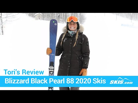 Video: Blizzard Black Pearl 88 Skis 2020 21 40