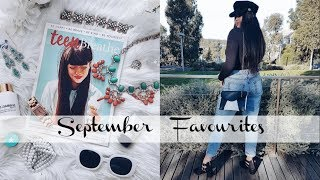 September Favourites   Fashion, Beauty, Music + More!