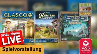 Dominion: Menagerie, Hallertau, Glasgow - Spielvorstellung - Brettspiel - ASS Altenburger + Lookout