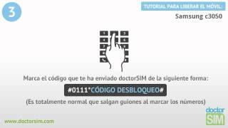 Liberar Samsung C3050 | Desbloquear Samsung C3050