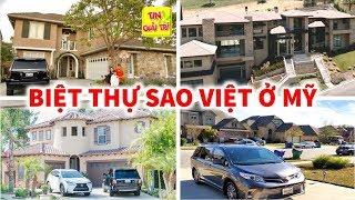 🏰 TOP 9 Căn Biệt Thự Triệu Đô của Sao Việt ở Mỹ siêu hoành tráng - TIN GIẢI TRÍ