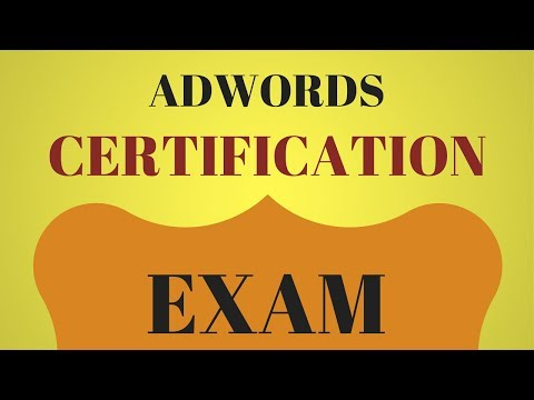 Tips For Passing The AdWords Certification Exams - YouTube