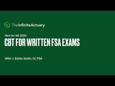 SOA written exams: Computer-based testing has arrived for fall 2020 ...