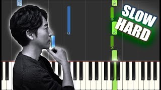 River Flows In You - Yiruma   SLOW HARD PIANO TUTORIAL by Betacustic